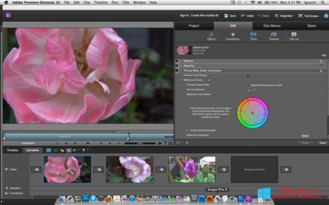 Screenshot Adobe Premiere Elements for Windows 8.1