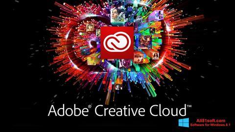 Screenshot Adobe Creative Cloud for Windows 8.1
