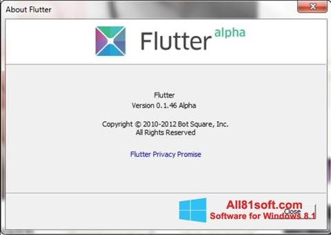 Download Flutter for Windows 8 1 (32/64 bit) in English