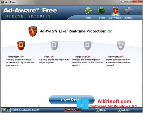 Screenshot Ad-Aware for Windows 8.1