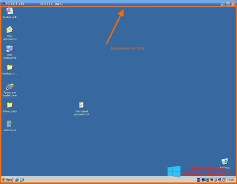 Screenshot Radmin for Windows 8.1