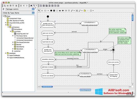 Screenshot ArgoUML for Windows 8.1