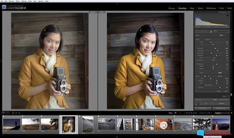 Screenshot Adobe Photoshop Lightroom for Windows 8.1