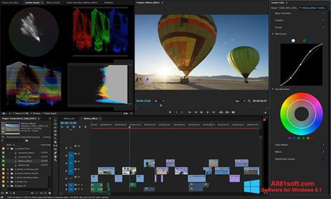 Screenshot Adobe Premiere Pro for Windows 8.1