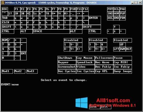 Screenshot DOSBox for Windows 8.1