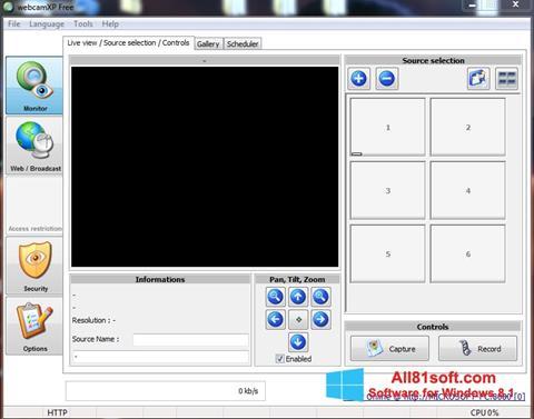 Screenshot webcamXP for Windows 8.1