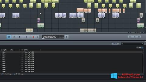 Screenshot MAGIX Music Maker for Windows 8.1