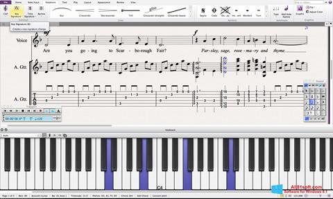 Screenshot Sibelius for Windows 8.1