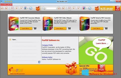 Screenshot Doc Reader for Windows 8.1