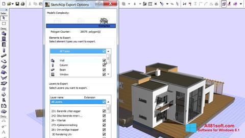 Screenshot ArchiCAD for Windows 8.1