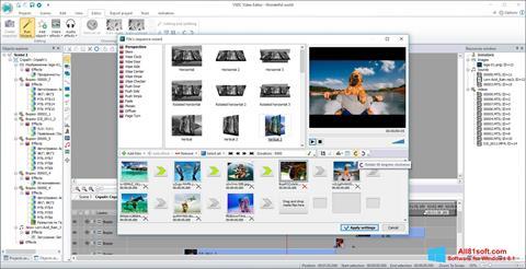 Screenshot VSDC Free Video Editor for Windows 8.1