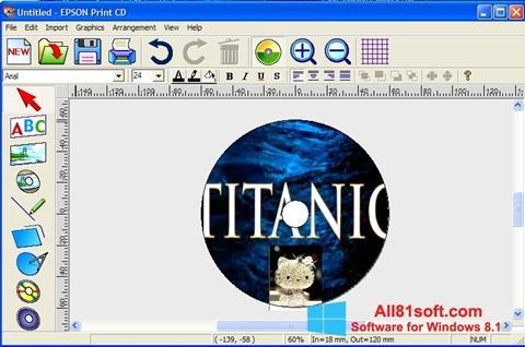 Screenshot EPSON Print CD for Windows 8.1