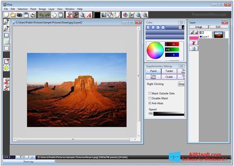 Screenshot Pixia for Windows 8.1