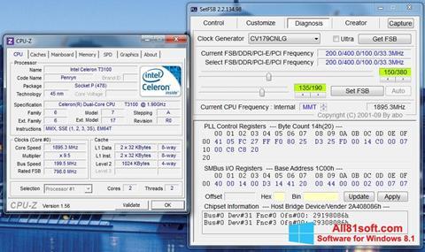Screenshot SetFSB for Windows 8.1