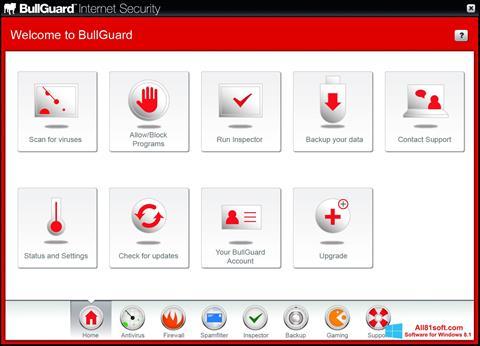 Screenshot BullGuard for Windows 8.1