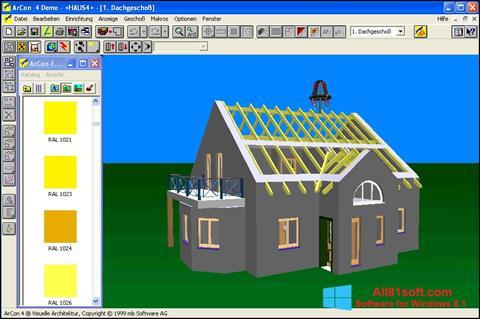 Screenshot Arcon for Windows 8.1