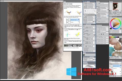 Screenshot Corel Painter for Windows 8.1