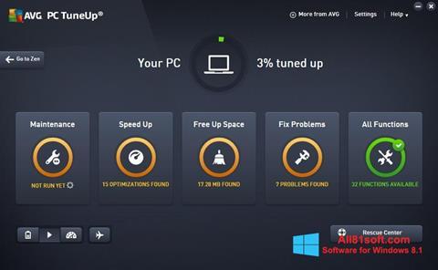 Screenshot AVG PC Tuneup for Windows 8.1