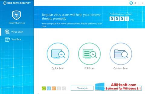 Screenshot 360 Total Security for Windows 8.1