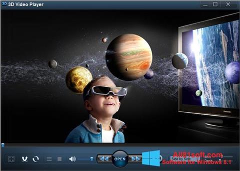 Screenshot 3D Video Player for Windows 8.1