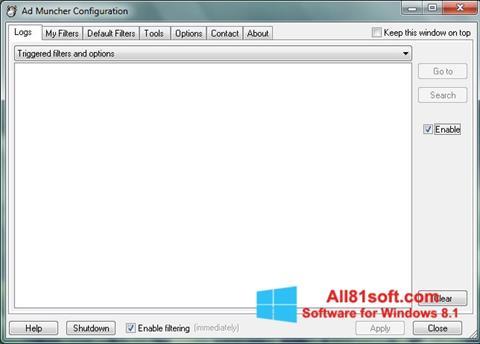 Screenshot Ad Muncher for Windows 8.1