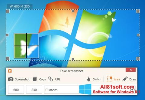 Screenshot ScreenShot for Windows 8.1