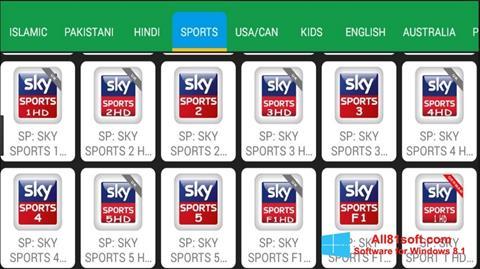 Screenshot Net TV for Windows 8.1