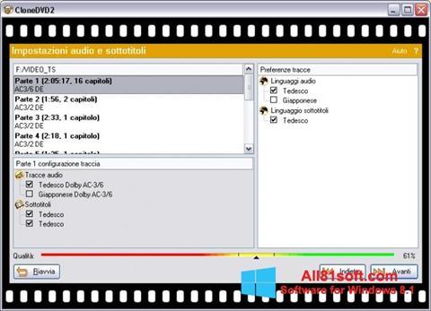 Screenshot CloneDVD for Windows 8.1