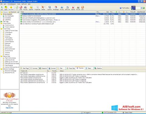 Screenshot BitComet for Windows 8.1