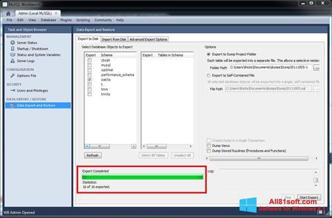 Download MySQL Workbench for Windows 8.1 (32/64 bit) in ...