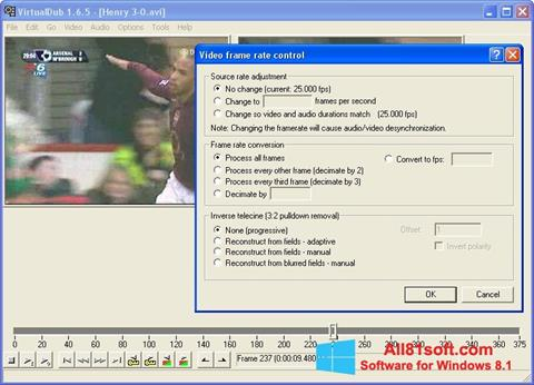 Screenshot VirtualDubMod for Windows 8.1