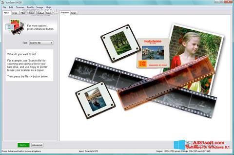 Screenshot VueScan for Windows 8.1