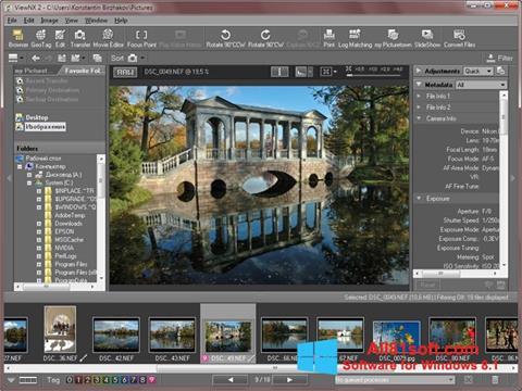 Screenshot ViewNX for Windows 8.1