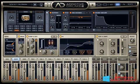 Screenshot Addictive Drums for Windows 8.1