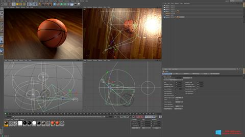 Screenshot CINEMA 4D for Windows 8.1