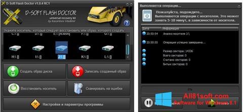 Screenshot D-Soft Flash Doctor for Windows 8.1