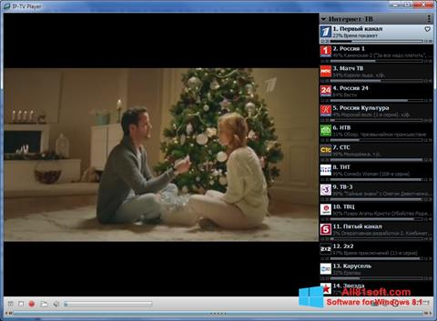 Screenshot IP-TV Player for Windows 8.1