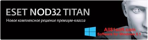 Screenshot ESET NOD32 Titan for Windows 8.1
