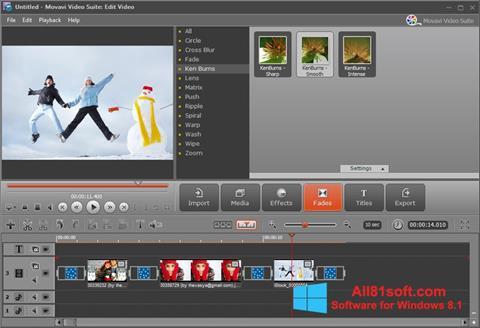 Screenshot Movavi Video Suite for Windows 8.1