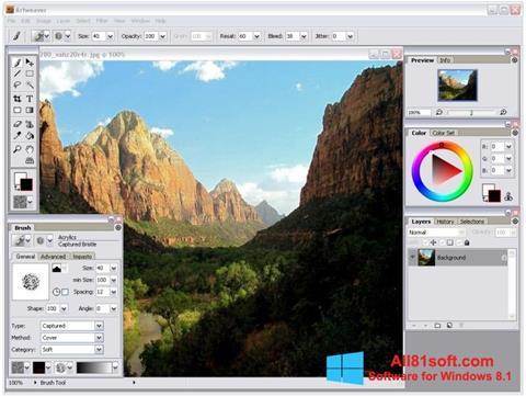 Screenshot Artweaver for Windows 8.1