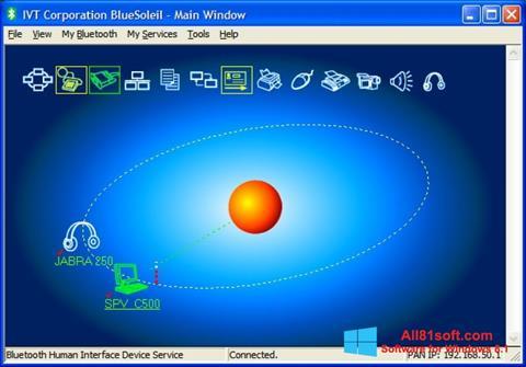 Screenshot BlueSoleil for Windows 8.1