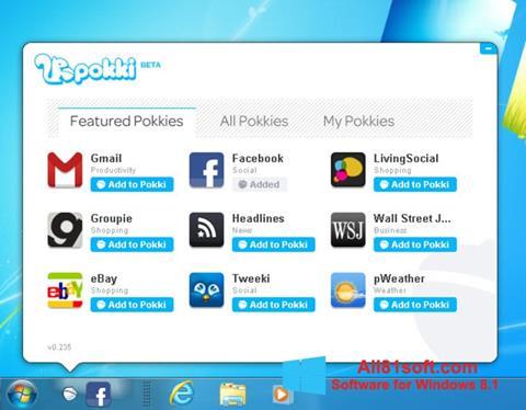 Screenshot Pokki for Windows 8.1