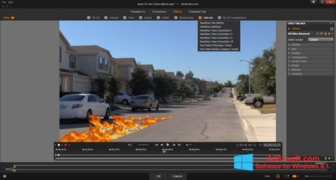 Screenshot Pinnacle Studio for Windows 8.1