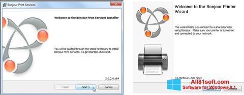 Screenshot Bonjour for Windows 8.1