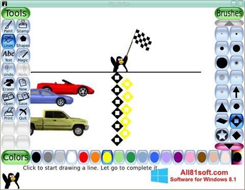 Screenshot Tux Paint for Windows 8.1