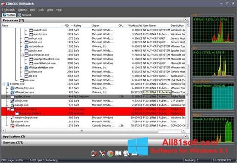 Screenshot Comodo Cleaning Essentials for Windows 8.1