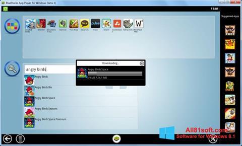 Screenshot BlueStacks for Windows 8.1