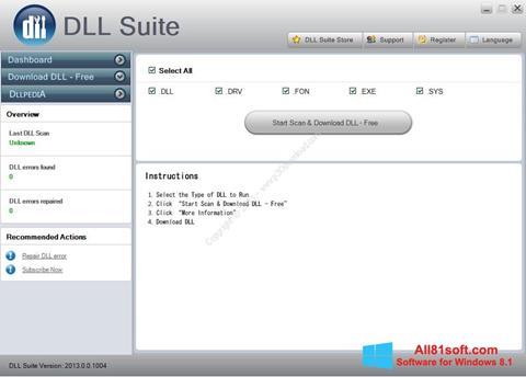 Screenshot DLL Suite for Windows 8.1
