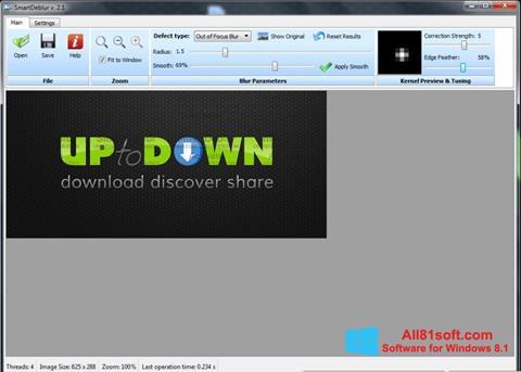 Screenshot SmartDeblur for Windows 8.1