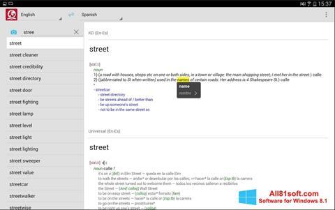 Screenshot ABBYY Lingvo for Windows 8.1